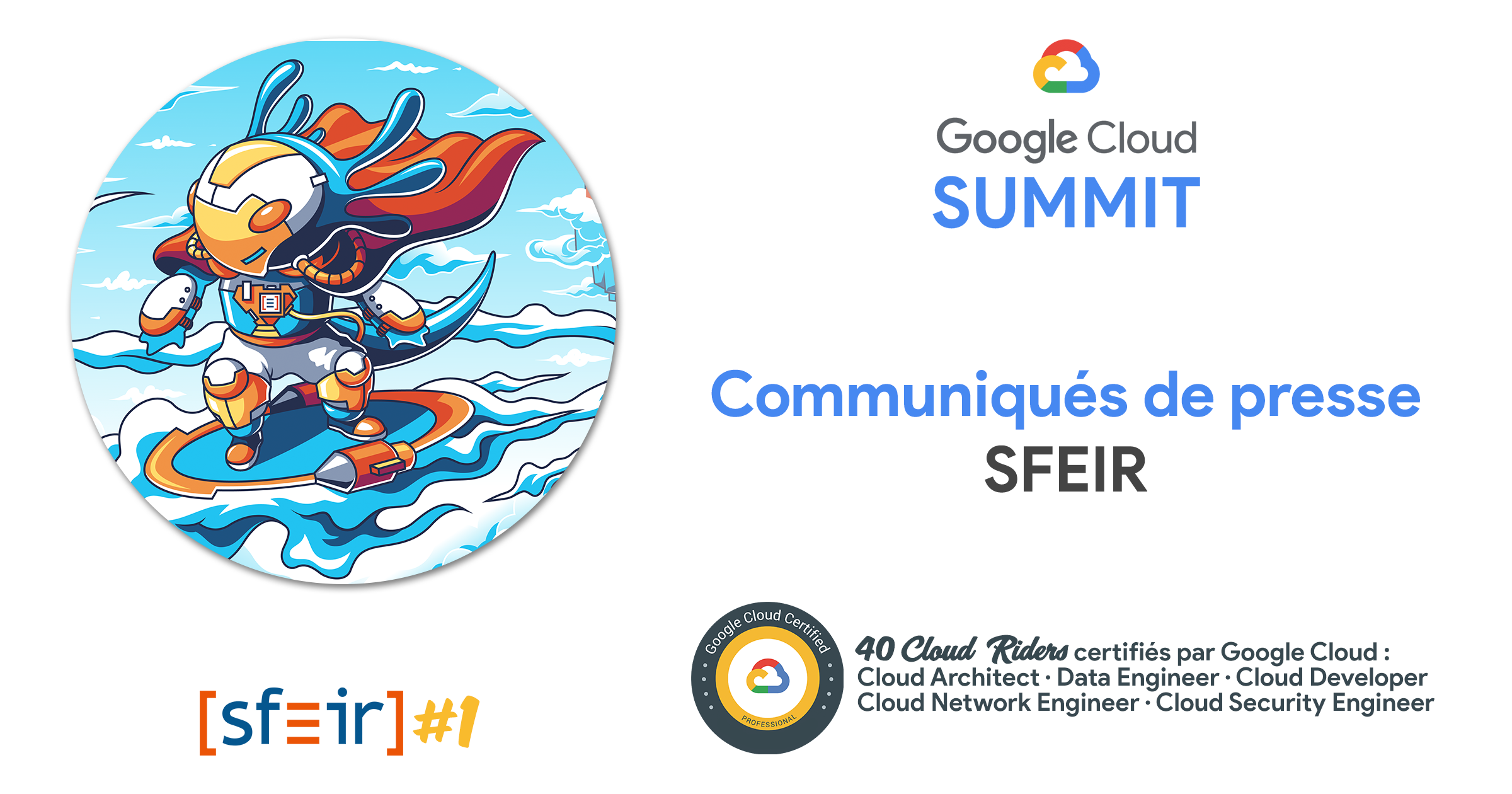 Communiqués de presse SFEIR - Google Cloud Summit 2019